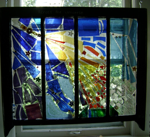 "Window by Pamela Benjamin ""Across the Universe"""